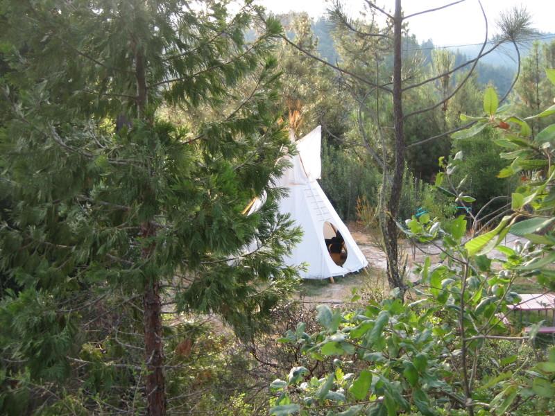 Camp Krem Peace Tent - Sensory Tipi
