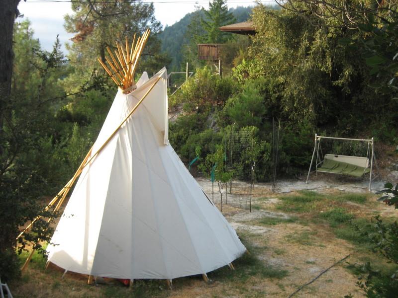 Camp Krem Sensory Tipi
