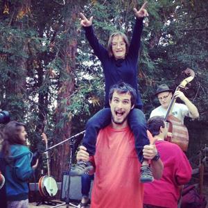 Main Camp - happy camper!