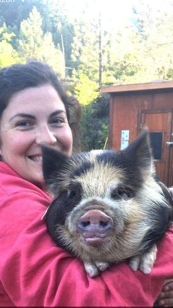 Piggie Smalls and Christina