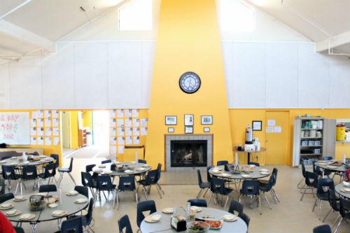 Inside Mess Hall