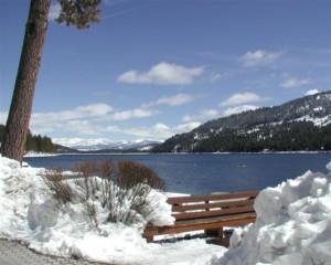 Donner Lake Snow Trip