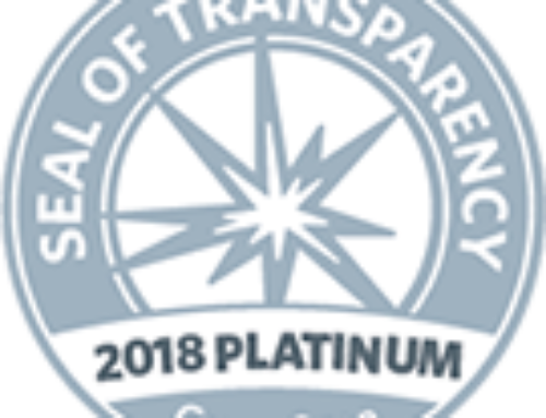 "Camp Krem GuideStar's ""Platinum"" rating 2018"