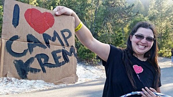 I love camp Krem